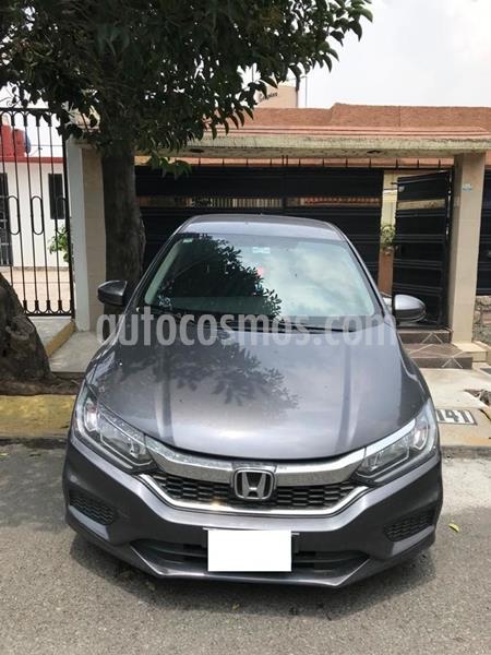 Honda City LX 1.5L usado (2019) color Gris precio $245,000
