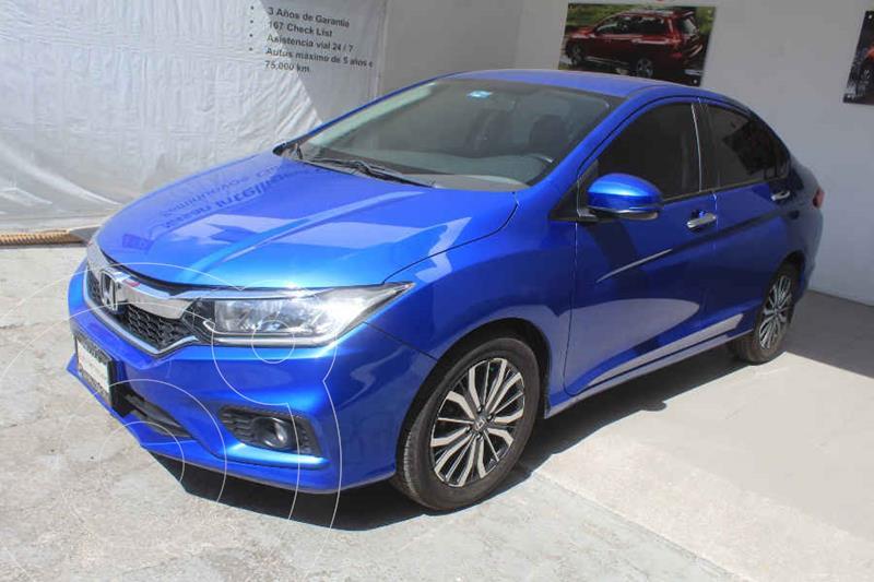 Foto Honda City EX 1.5L Aut usado (2019) color Azul precio $272,000