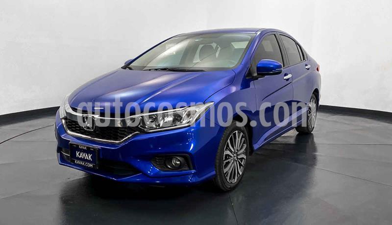 Honda City EX 1.5L Aut usado (2019) color Azul precio $247,999