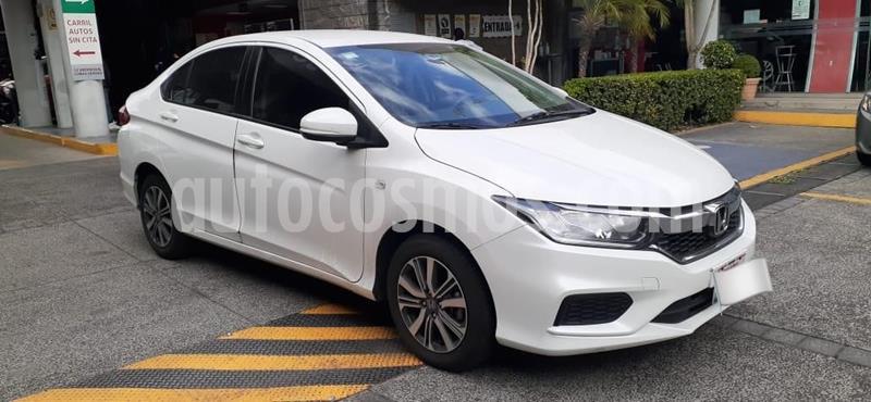Honda City LX 1.5L usado (2018) color Blanco precio $225,000