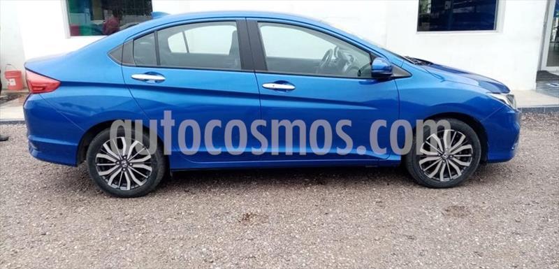 Honda City EX 1.5L Aut usado (2018) color Azul Electrico precio $250,000