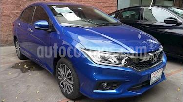 Foto Honda City EX 1.5L Aut usado (2018) color Azul precio $263,000