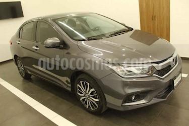 Honda City 4p EX L4/1.5 Aut usado (2018) color Gris precio $245,000