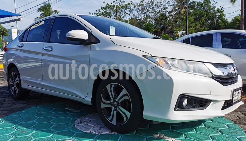 Honda City EX 1.5L Aut usado (2016) color Blanco Marfil precio $185,000
