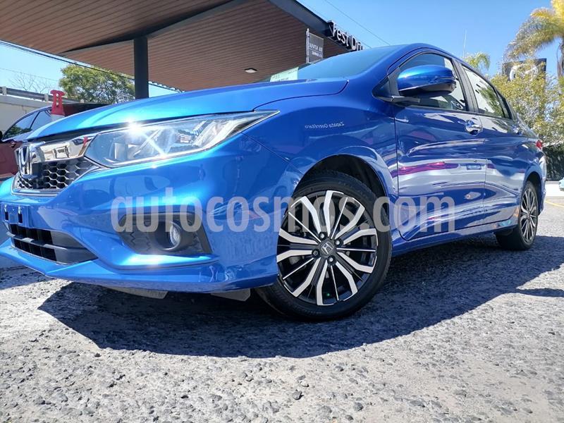 Foto Honda City EX 1.5L usado (2018) color Azul precio $222,000