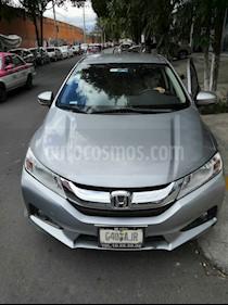 Honda City EX 1.5L Aut usado (2017) color Plata Diamante precio $190,000