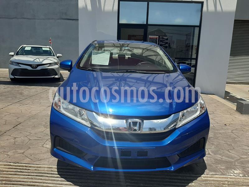 Honda City LX 1.5L usado (2017) color Azul precio $187,000
