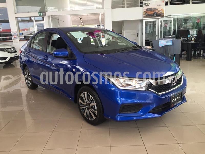 Honda City LX 1.5L usado (2020) color Azul Deportivo precio $274,900