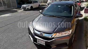 Honda City LX 1.5L Aut usado (2016) color Gris Magnesio precio $185,000