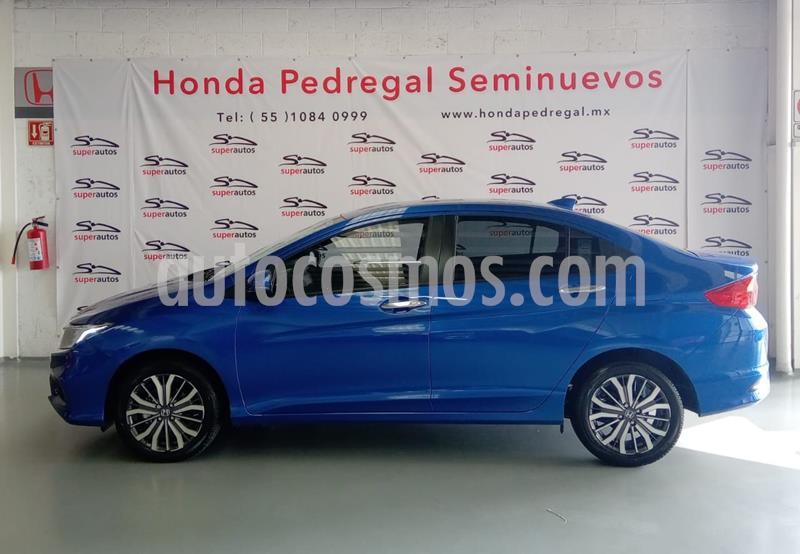 Honda City EX 1.5L usado (2020) color Azul precio $297,000