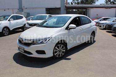 Honda City 4p LX L4/1.5 Man usado (2018) color Blanco precio $199,000