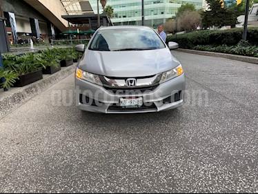 Honda City LX 1.5L usado (2015) color Plata precio $150,000