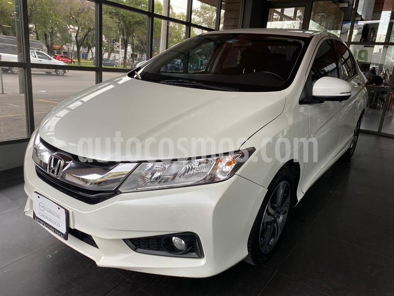 Honda City EX 1.5L Aut usado (2016) color Blanco Marfil precio $180,000