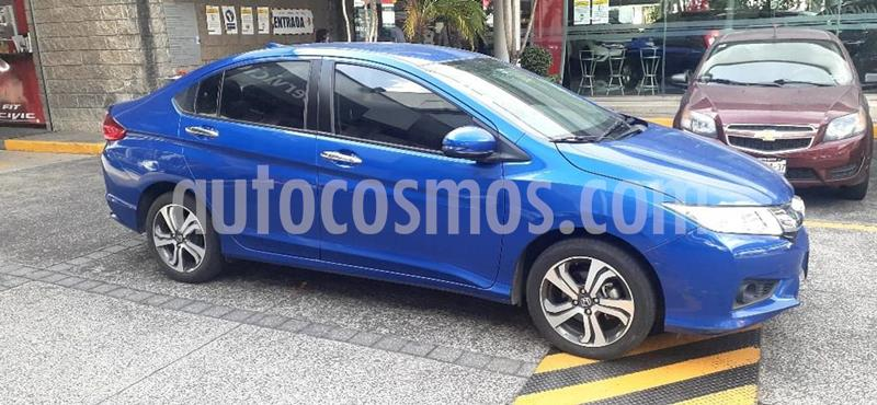 Foto Honda City EX 1.5L usado (2017) color Azul precio $225,000