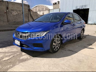 Honda City LX 1.5L usado (2018) color Azul precio $218,000