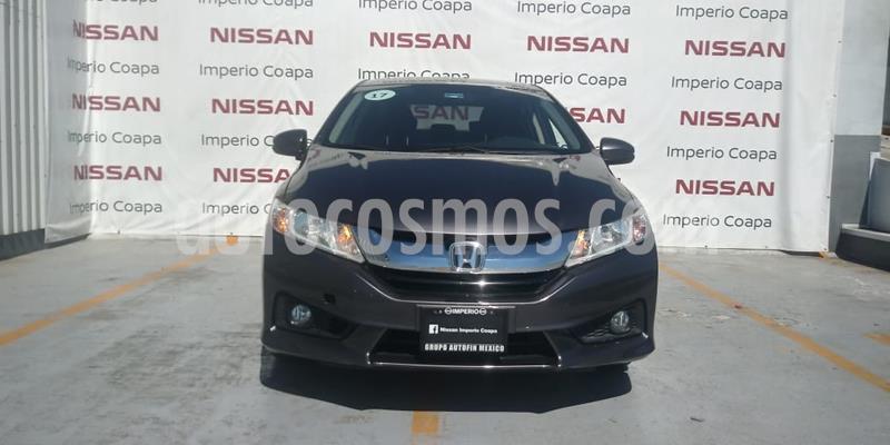 Honda City EX 1.5L Aut usado (2017) color Acero precio $215,000