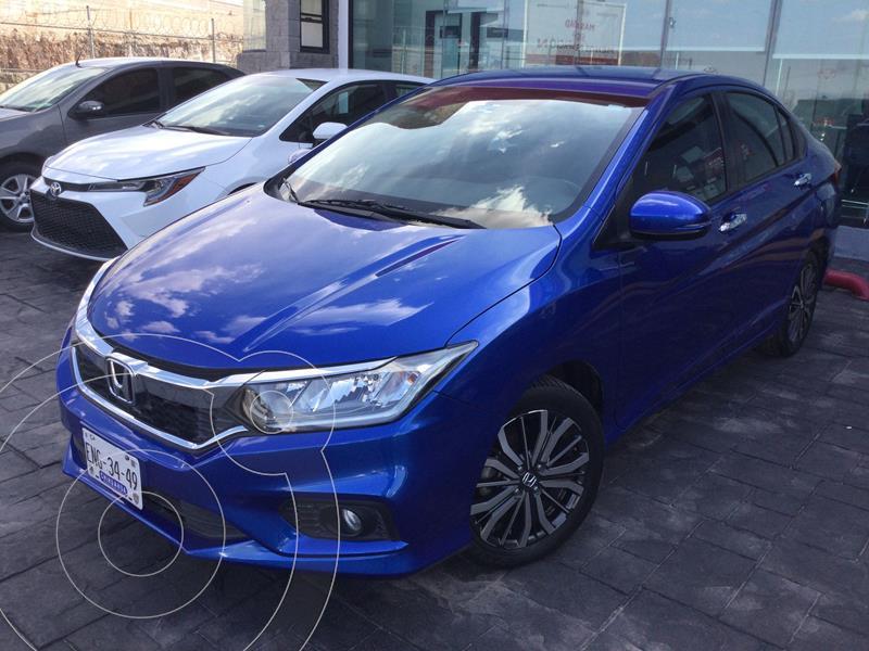 Foto Honda City EX 1.5L usado (2019) color Azul precio $263,000