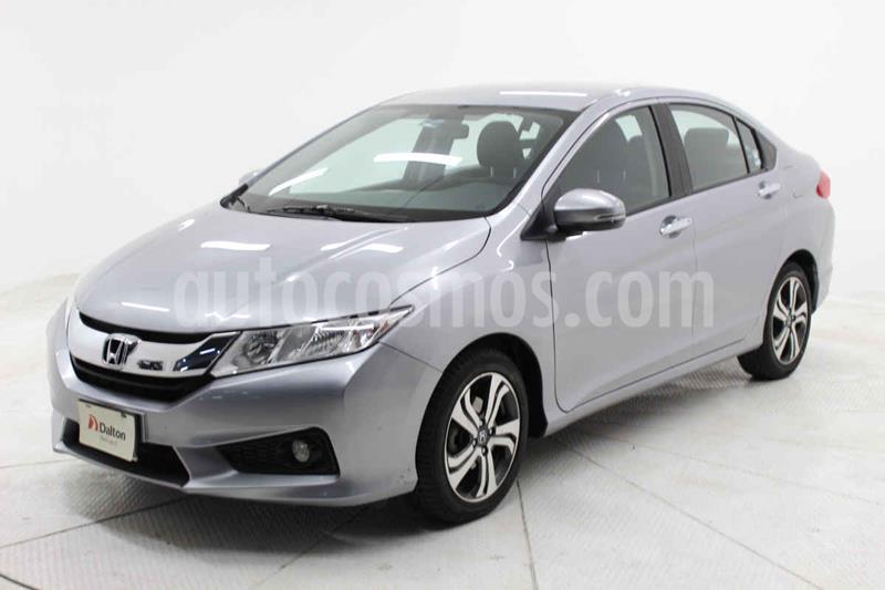 Honda City EX 1.5L Aut usado (2017) color Plata precio $199,000