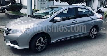 Honda City EX 1.5L Aut usado (2017) color Gris Magnesio precio $219,000