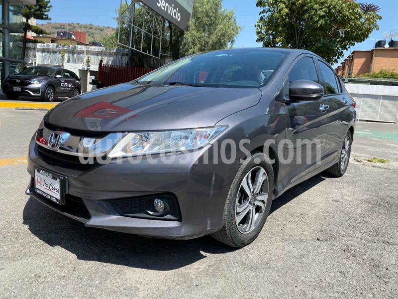 Honda City EX 1.5L Aut usado (2017) color Gris precio $205,000