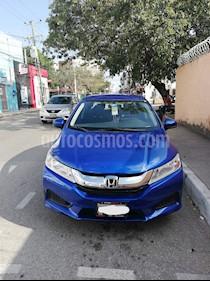Honda City LX 1.5L Aut usado (2017) color Azul precio $195,000