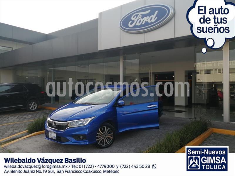 Honda City EX 1.5L Aut usado (2019) color Azul Electrico precio $225,000