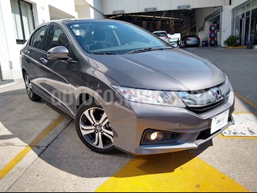 Honda City 4p EX L4/1.5 Aut usado (2016) color Gris precio $199,000