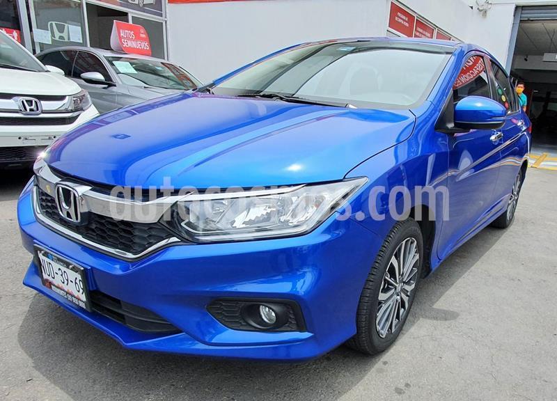 Honda City EX 1.5L Aut usado (2018) color Azul precio $250,000