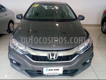 Honda City EX 1.5L usado (2019) color Gris precio $255,000