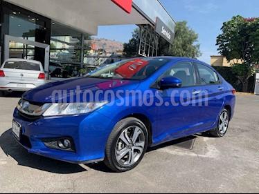 Honda City 4p EX L4/1.5 Aut usado (2017) color Azul precio $228,000