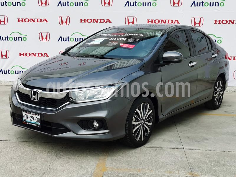 Honda City EX 1.5L Aut usado (2019) color Acero precio $265,000