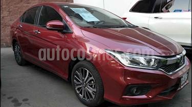 Honda City EX 1.5L Aut usado (2019) color Vino Tinto precio $273,000