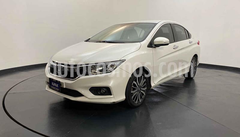 Honda City EX 1.5L Aut usado (2019) color Blanco precio $249,999