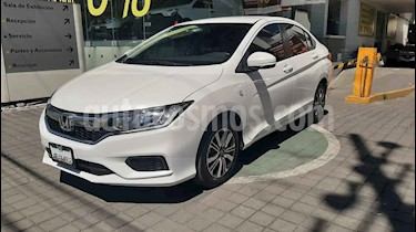 Honda City 4p EX L4/1.5 Aut usado (2019) color Blanco precio $245,000