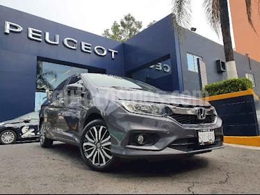 Honda City EX 1.5L Aut usado (2018) color Gris precio $224,900