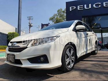 Honda City 4 pts. EX usado (2016) color Blanco precio $192,900