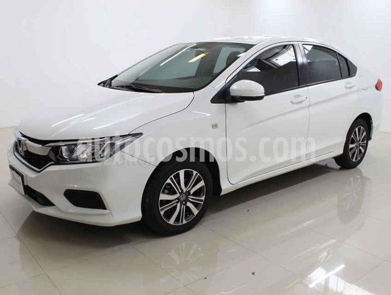 Honda City LX 1.5L Aut usado (2018) color Blanco precio $225,000