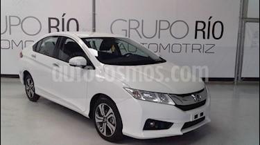 Honda City EX 1.5L Aut usado (2016) color Blanco precio $198,000