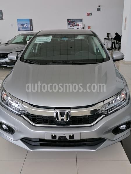 Honda City EX 1.5L Aut usado (2020) color Blanco precio $319,900