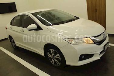 Honda City 4p EX L4/1.5 Aut usado (2017) color Blanco precio $225,000