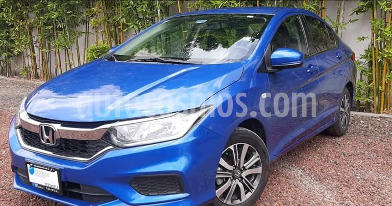 Honda City LX 1.5L Aut usado (2018) color Azul precio $225,000