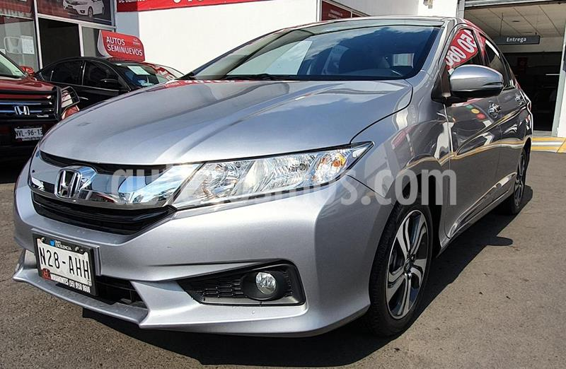 Honda City EX 1.5L Aut usado (2017) color Plata Diamante precio $240,000