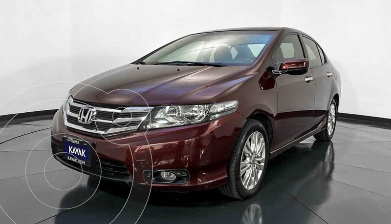 Honda City EX 1.5L Aut usado (2013) color Rojo precio $149,999