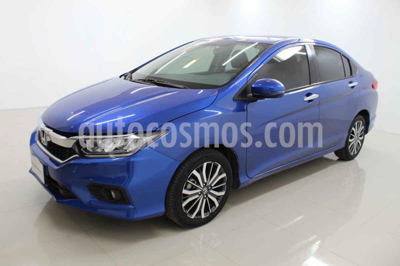 Honda City EX 1.5L Aut usado (2018) color Azul precio $239,000
