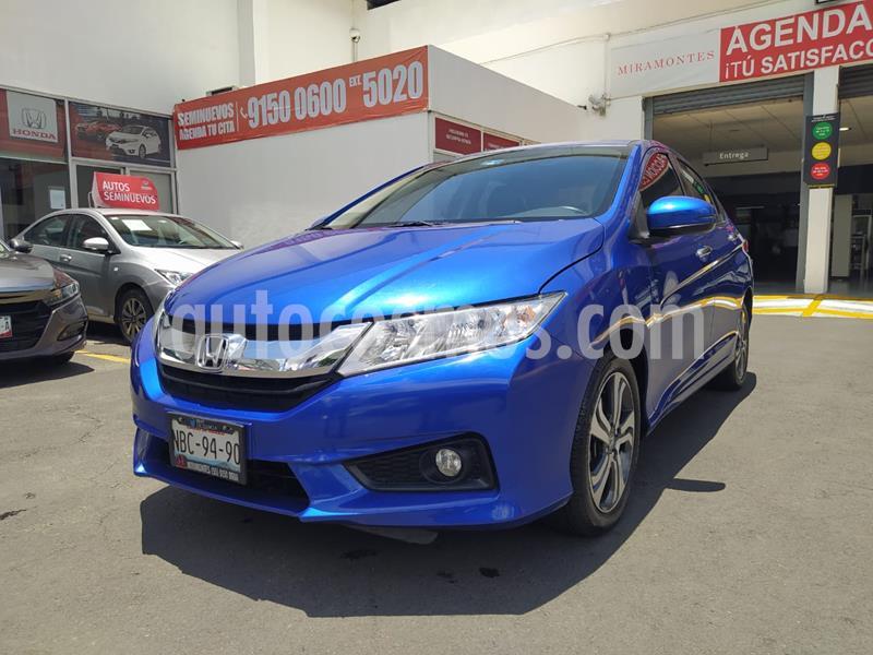 Honda City LX 1.5L usado (2019) color Azul Deportivo precio $250,000