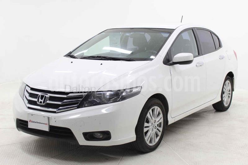Honda City EX 1.5L Aut usado (2013) color Blanco precio $155,000