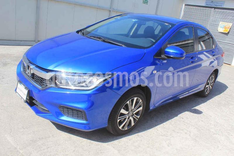 Honda City LX 1.5L usado (2018) color Azul precio $209,000