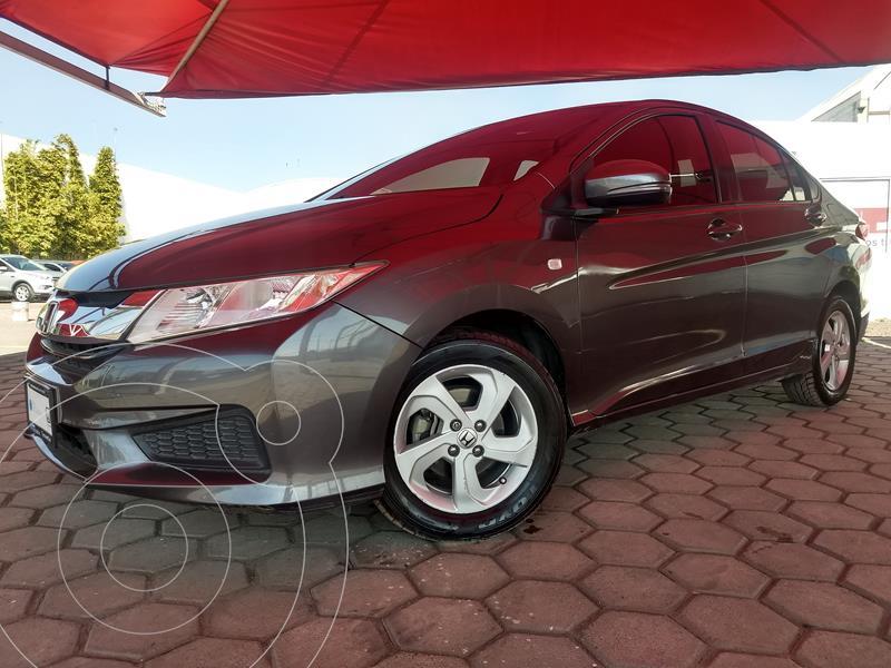 Honda City LX 1.5L usado (2017) color Acero precio $179,000