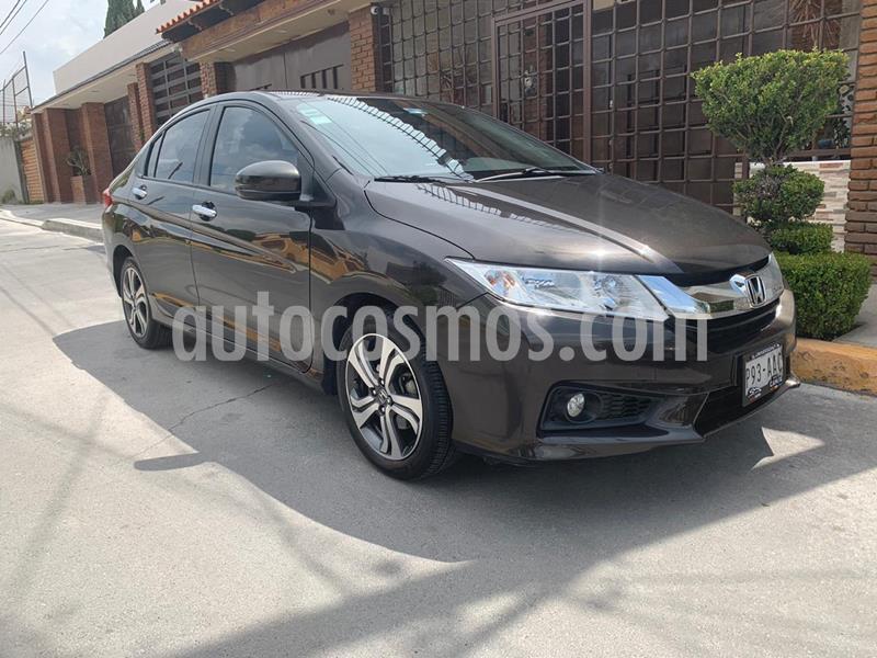 Honda City EX 1.5L Aut usado (2014) color Bronce precio $165,000