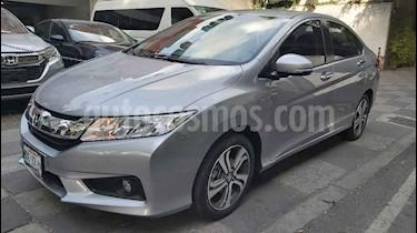 Honda City EX 1.5L Aut usado (2017) color Plata precio $219,000